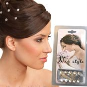 Hair jewelry 10 st - Diamond style