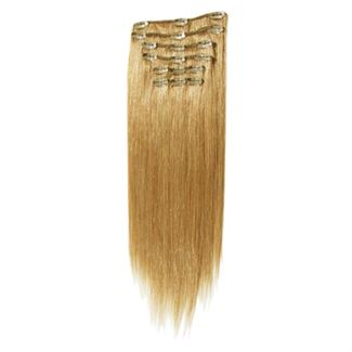 Clip on hair #27 65 cm Zwishen blond