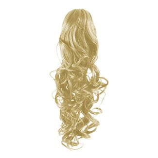 Ponytail Extensions 613# - Blond (curly)