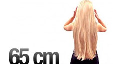 65 cm Clip-on Hair