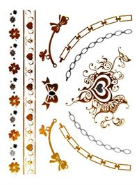 Metallic Tattoo No. 37